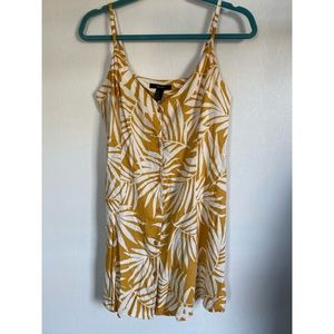 Forever 21 tropical print mini dress